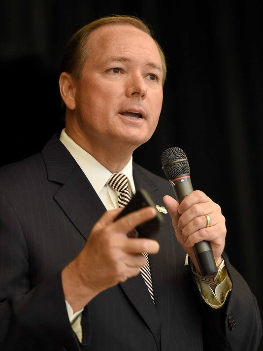 Mississippi State University President Mark Keenum