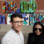 Young leaders share blessings through murals