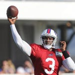 Bills quarterback EJ Manuel is battling for the starting role. Manuel was selected in the first round (16th overall) in 2013.