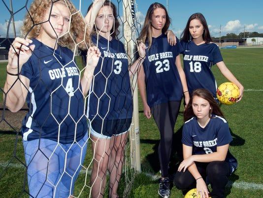 Gulf Breeze Girls Soccer Feature