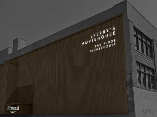 What the exterior of Sperry's MovieHouse could look like