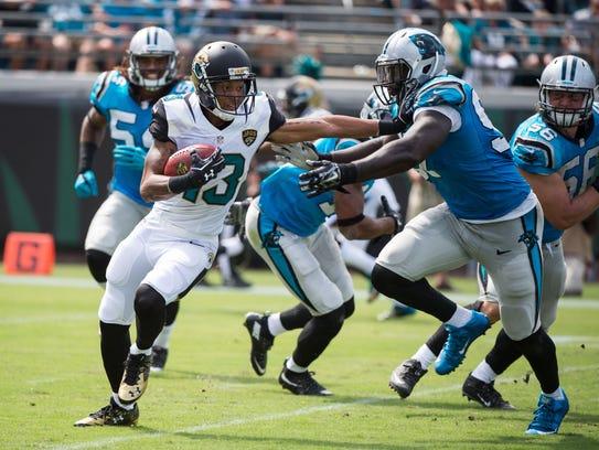 Sep 13, 2015; Jacksonville, FL, USA; Jacksonville Jaguars