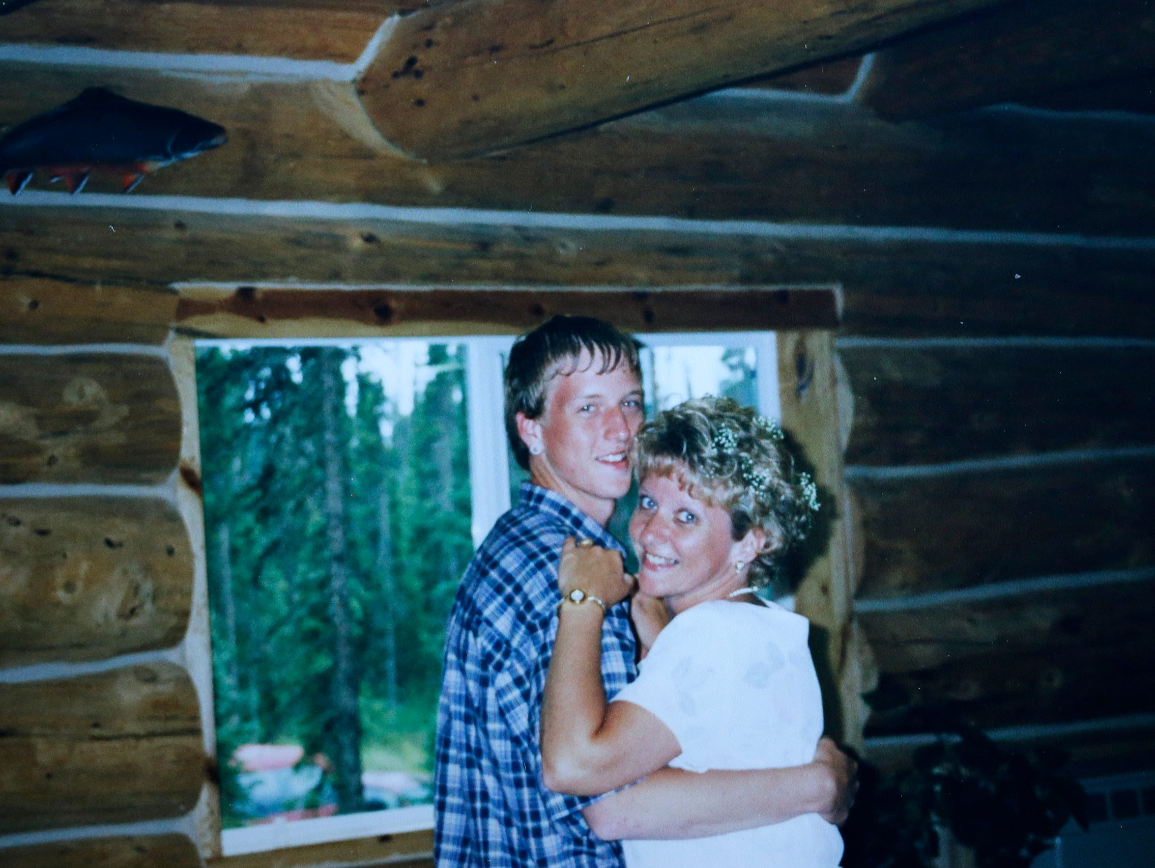 A photo of Sgt. Brandon Ketchum with his mother Bev