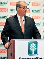 BancorpSouth CEO Dan Rollins is shown in this 2013