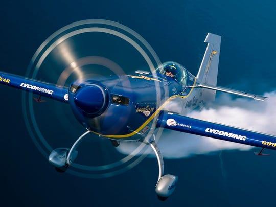 Aerobatic pilot Mike Goulian