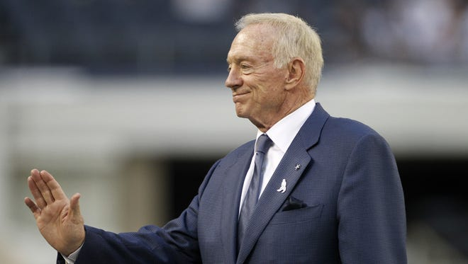 Dallas Cowboys team owner Jerry Jones is backing away from earlier statements regarding the team's QB situation.