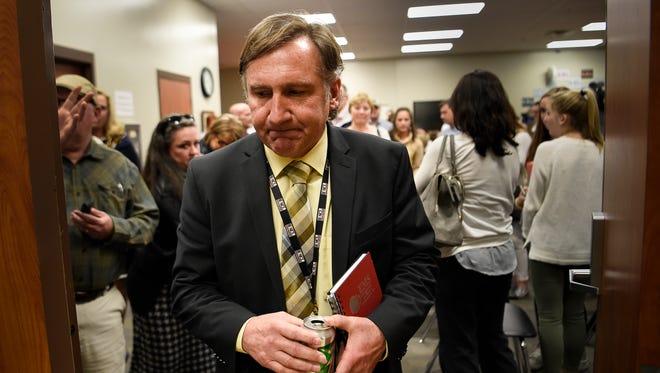 Williamson County School director Mike Looney