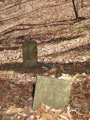 The hike will go past  a gravestone, marked soberly
