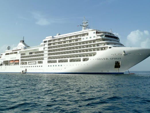 Although the 36,000-ton Silver Spirit is considered mid-sized by today's standards, it is by far the largest ship in the Silversea Cruises fleet.