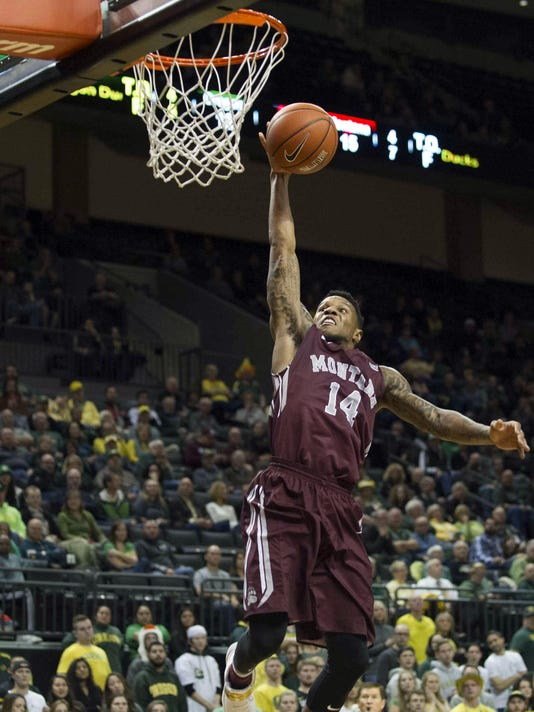 NCAA Basketball: Montana at Oregon
