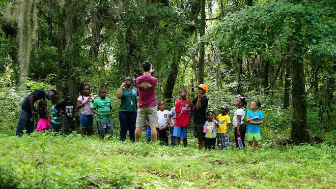 Tots and Trails, a nature-inspired experiential learning program that began is designed to inspire students as they explore their creativity and learn more about the outdoors.