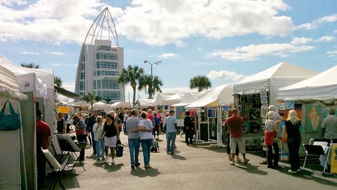 The Space Coast Art Festival, an event that draws up to 50,000 people over the Thanksgiving weekend, has to find a new home this year.