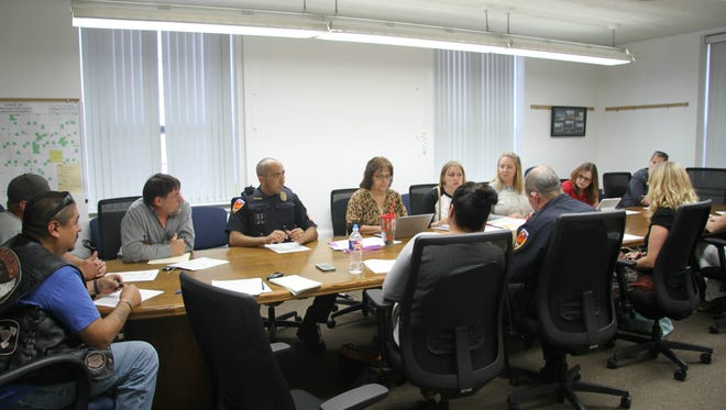 The Carlsbad Community Anit-Drug/Gang coalition meeting on Wednesday discussed prescription drug statistics and awareness.