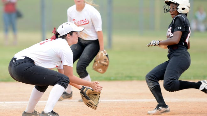 Elmore County's Elissa Brown was named All-State as a designated hitter, batting .570 with 24 RBIs and four home runs, and also stole 62 bases this past season.