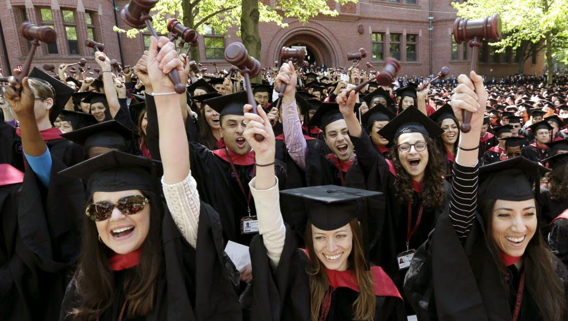 Why you might want to think twice before going to law school