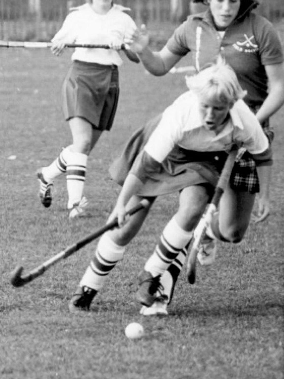 Elizabeth Ferrara played for Rutgers field hockey from