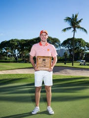 Clemson freshman golfer Doc Redman won the individual championship at the Ka'anapali Classic last November.