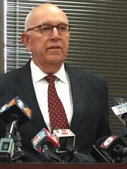 During a press conference Thursday, Marion County Prosecutor