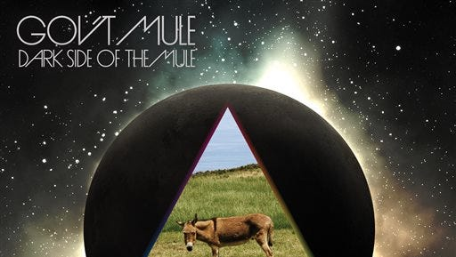 """This CD cover image released by Evil Teen Records shows """"Dark Side of the Mule,"""" by Gov't Mule. (AP Photo/Evil Teen Records)"""