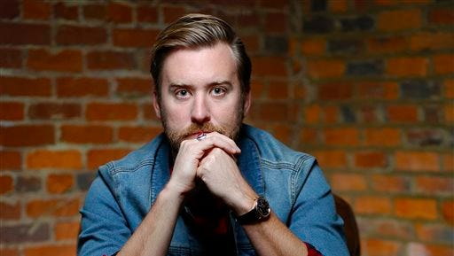 Charles Kelley of Lady Antebellum poses for a photo at the offices of The Green Room in Nashville. Kelley in February 2016 is expecting his first child and releasing his first solo record apart from the country vocal group.