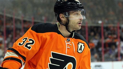 Philadelphia Flyers' alternate captain Mark Streit played in his 700th NHL game Monday. Counting his time in Switzerland, he's well over 1,000 as a pro.