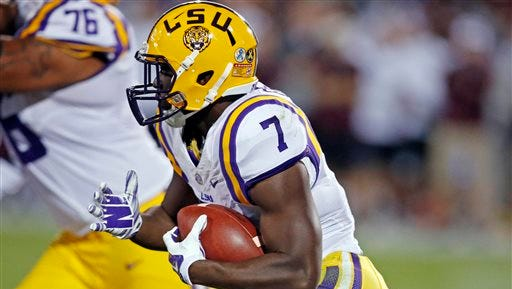 LSU running back Leonard Fournette (7) is expected to be among the Heisman Trophy candidates again this year.