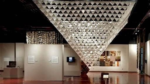 Transforming Space, Transforming Fiber is the new exhibit at the Las Cruces Museum of Art.