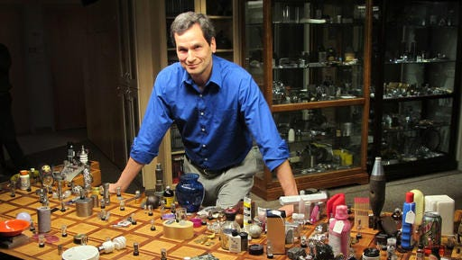 """This undated image released by WGBH shows David Pogue from NOVA's """"Hunting the Elements."""" NOVA is partnering with Pogue in a Kickstarter campaign that invites fans and science lovers to take part in the production of """"Beyond the Elements,"""" a new cross-platform project that explores how molecules make up our entire known universe."""
