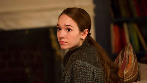 "In this image released by FX, Holly Taylor portrays Paige Jennings in a scene from ""The Americans,"" airing Tuesdays at 10 p.m. EDT."