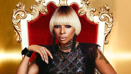"""This cover image released by Capitol Records shows """"Strength of a Woman,"""" the latest album by Mary. J. Blige."""