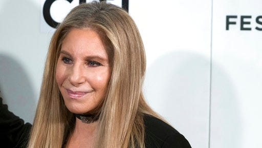 Barbra Streisand attends the Tribeca Talks: Storytellers event during the 2017 Tribeca Film Festival on Saturday, April 29, 2017, in New York.