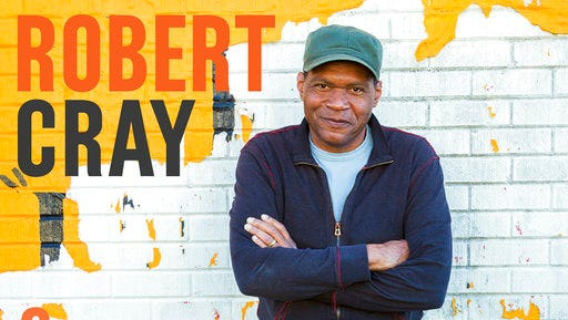 "This cover image released by Jay-Vee Records shows ""Robert Cray & Hi Rhythm,"" a new release by Robert Cray."