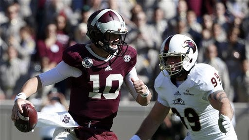 The last meeting between ULM and Texas A&M was during the 2014 season. The Warhawks hung with the Aggies in a 21-16 loss at Kyle Field.