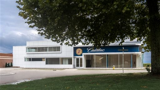 The Cadillac-LaSalle Club Museum & Research Center is shown in a Sept. 10 provided photo in Hickory Corners, Mich. Officials say the Cadillac-LaSalle Club Museum?s mission is to protect, promote and share the history of the automobiles as well as their impact over the years and features nearly two-dozen cars, including a rare 1903 example from Cadillac?s first year of production; a 1937 LaSalle convertible sedan; and a 1957 Cadillac Brougham used in the film ?Driving Miss Daisy.? The museum is located on the grounds of the Gilmore Car Museum in Hickory Corners and will have a grand opening ceremony on Sunday.