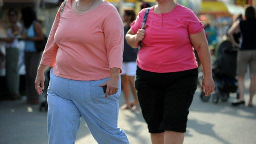 Obesity increases the risk of ovarian cancer, a new report suggests.