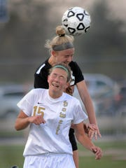 Lianne Pietila (15) is one of several Howell players