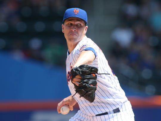 Aug. 8: Jacob deGrom, Mets, 10 vs. Reds.