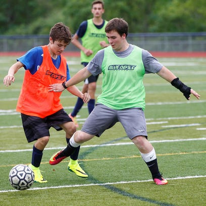 Chenango Forks held its first boys soccer practice on Monday.