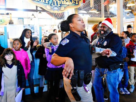 York City Schools spread cheer