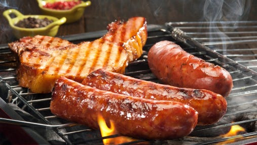 """Processed red meats, which are preserved by smoking, curing, salting or adding preservatives, typically contain salt, nitrates, phosphates and other food additives. """"Smoked and grilled meats also contain polycyclic aromatic hydrocarbons, all of which may contribute to the increased heart failure risk,"""" study co-author Alicja Wolk, from the Karolinska Institute in Stockholm, said in a journal news release."""