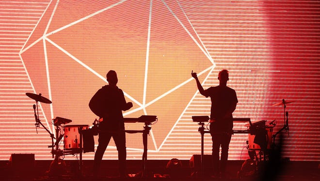 Odesza performs Saturday at Farm Bureau Insurance Lawn at White River State Park.
