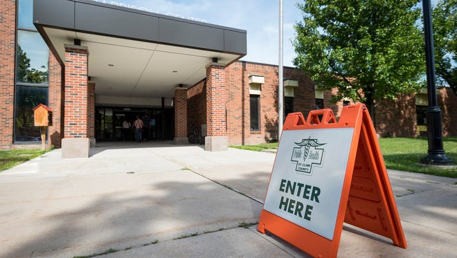 Free lead testing was being offered by the St. Clair County Health Department Tuesday, June 26, 2018, at the Harrison Center in Port Huron. The tests were being offered after the Michigan Department of Environmental Quality found soil samples in the neighborhoods surrounding Mueller Brass that had lead levels above safe standards.