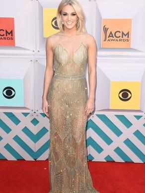 LAS VEGAS, NEVADA - APRIL 03:  Singer Carrie Underwood