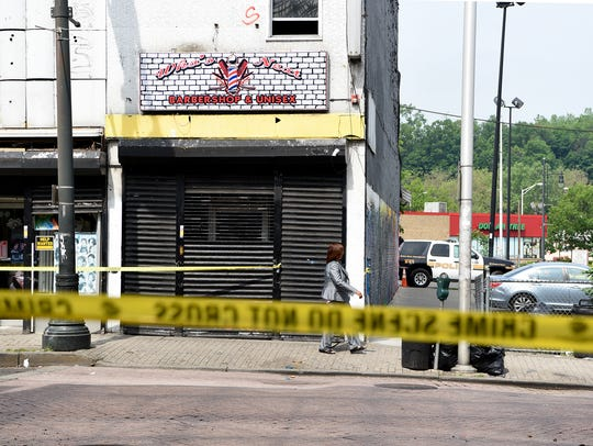 An early-morning shooting Sunday in Paterson surprised