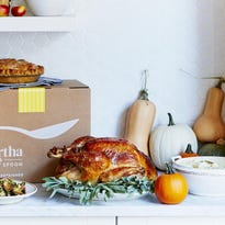 Martha Stewart's Thanksgiving delivered to you