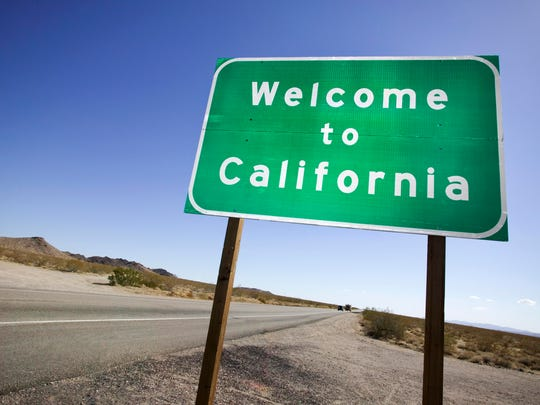 A California sign