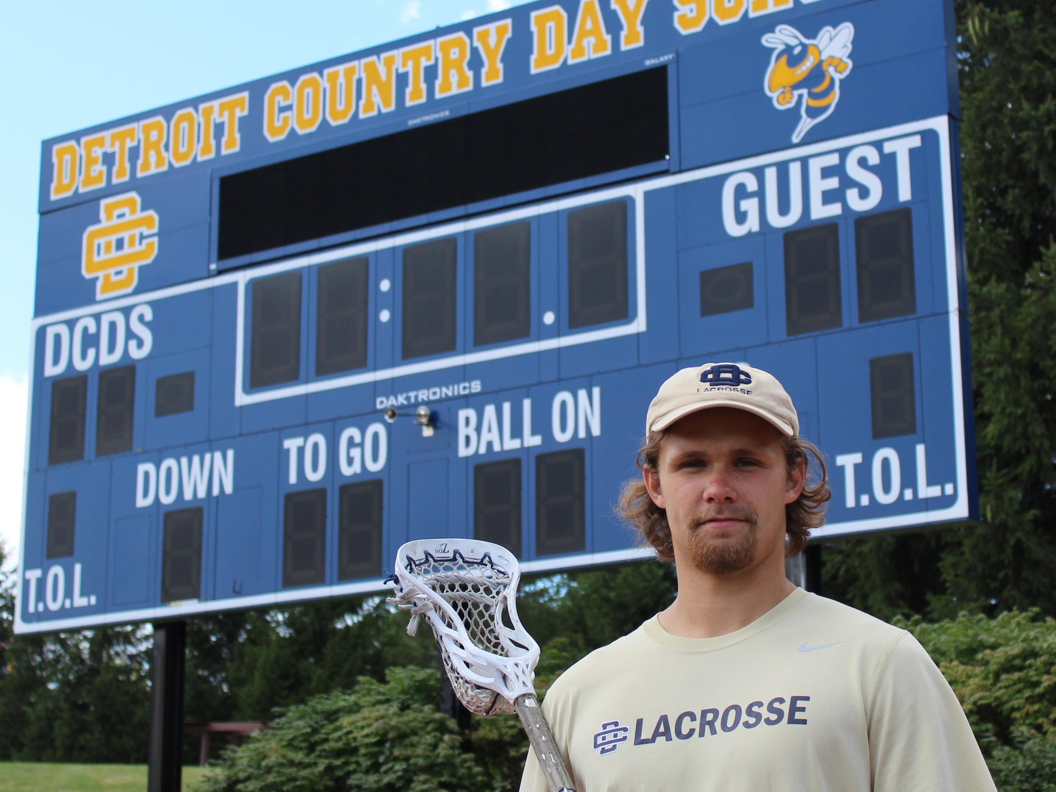 Nick Martin is the first student-athlete from Detroit Country Day to capture the Chuck Vorce Award as Michigan's top male high school lacrosse player.