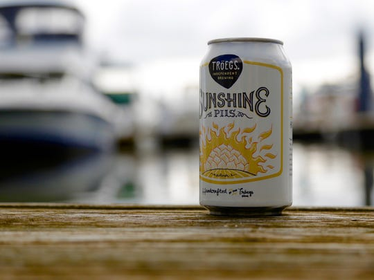 Troegs' Sunshine Pils has been featured at York's History