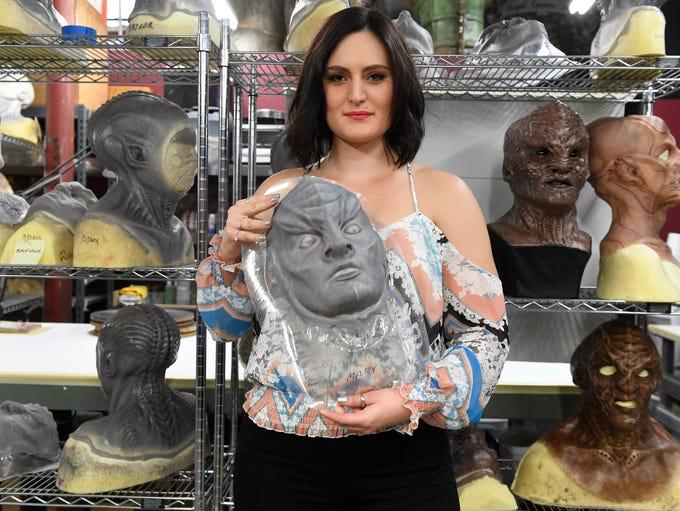 Watch Mary Chieffo transform into Klingon battle deck