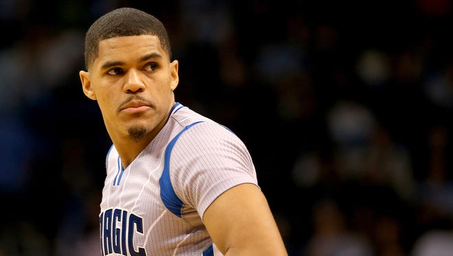 Tobias Harris was traded in February of his second year with the Bucks to the Orlando Magic.